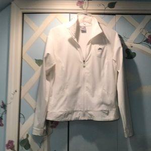 Awesome white Nike tennis/golf jacket